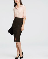 Ann Taylor Long Pencil Skirt