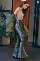 Urban Outfitters Alura Velvet Flare Pant