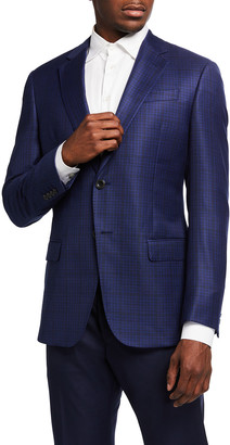 Emporio Armani Men's High Box Wool Sport Jacket