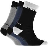 Diesel SKM RAY Three Pack Socks Black