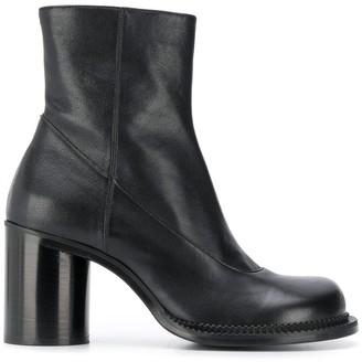 Maison Margiela Chunky Heel Ankle Boots