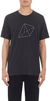 Rag & Bone MEN'S TRIANGLE-EMBROIDERED COTTON T-SHIRT