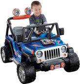 Fisher-Price Power Wheels Hot Wheels Ride-On Jeep Wrangler by