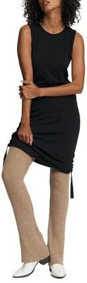 Rag & Bone Gisella Sleeveless Ruched Side Tie Dress
