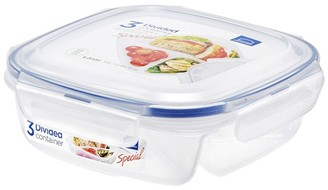 Lock & Lock Special 3 Section Lunch Container - 750ml
