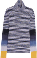 Missoni Striped wool-blend turtleneck sweater