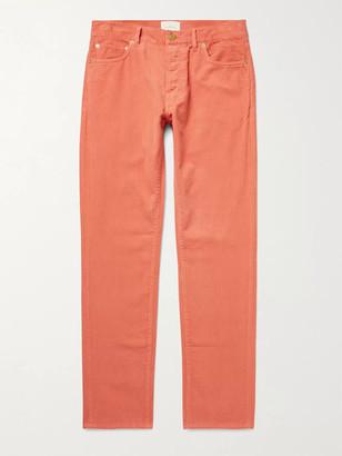 Sid Mashburn Cotton-Corduroy Trousers