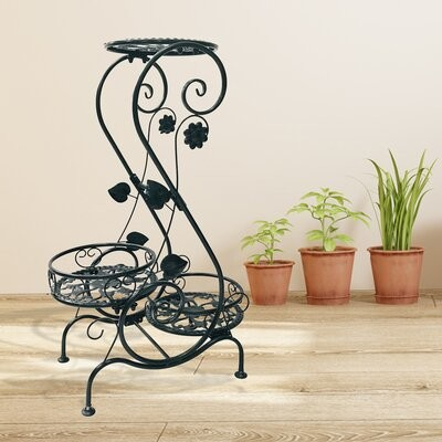 Astoria Grand Wimmer Free Form Multi Tiered Plant Stand Shopstyle Living Room Furniture