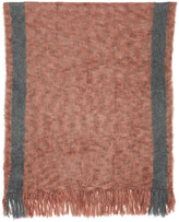 Isabel Marant Red Large Izia Scarf