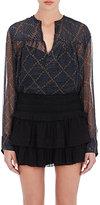 Etoile Isabel Marant Women's Bowtie Silk Top