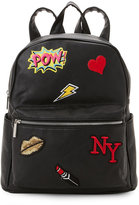 Imoshion Black NY Patch Backpack
