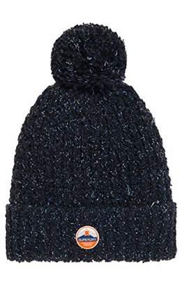 Superdry Women's Clarrie Stitch Beanie,One (Size: OS)