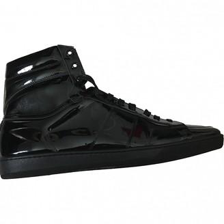 Saint Laurent Black Patent leather Trainers