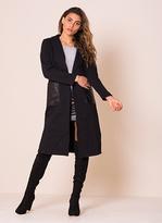 Missy Empire Parris Black Longline Jacket