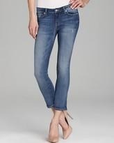 Jeans - Liam Crop in Blue Haze