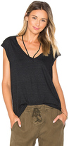Pam & Gela V-Neck Tee With Strings