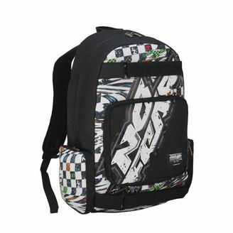 No Fear Logo Skate Backpack