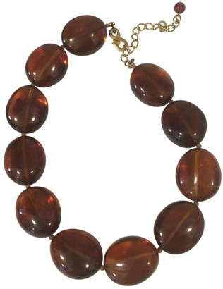 Kenneth Jay Lane Brown Pearls Necklaces