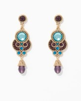 Charming charlie Antique Shimmer Chandelier Earrings