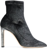 Jimmy Choo Louella boots - women - Leather/Polyester - 36