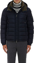 Moncler Men's Down-Quilted Hooded Parka-NAVY