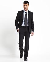 Ted Baker Endurance Slim-Jim Tonal-Stripe Two-Piece Suit, Black