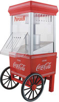 Nostalgia Electrics Nostalgia OFP501COKE Coca-Cola 12-Cup Hot Air Popcorn Maker