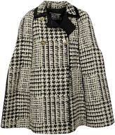 Fausto Puglisi Houndstooth Double Breasted Coat