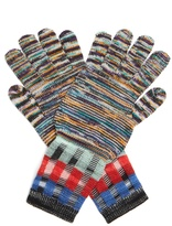 Missoni Multi-knit wool-blend gloves