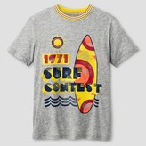 Cat & Jack Boys' Surf Contest Activewear T-Shirt Cat & Jack - Light Grey Heather