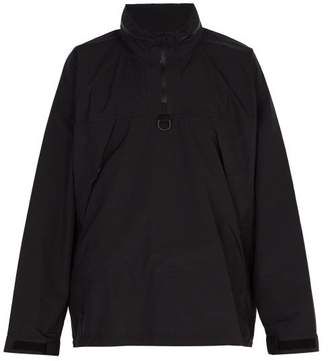 Snow Peak Quarter Zip Technical Jacket - Mens - Black