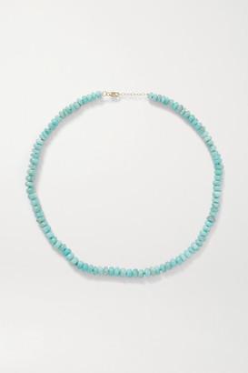 JIA JIA Gold Amazonite Necklace - Turquoise