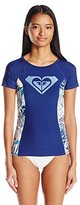 Roxy Women's Sea Lovers Short Sleeve Lycra Rashguard
