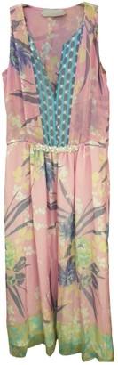 Schumacher Multicolour Silk Dress for Women