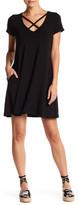 Socialite Cross Front Dress