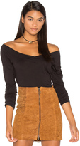 Velvet by Graham & Spencer Devon Off Shoulder Top