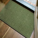 Bed Bath & Beyond Microfibre® Low Profile 2-Foot x 3-Foot Door Mat in Green