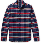 Alex Mill Checked Cotton Shirt - Navy
