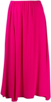Alysi flared midi skirt
