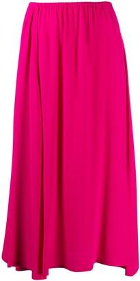Alysi Flared Midi Skirt