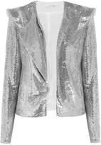 IRO Waklyn Sequined Twill Jacket - Silver