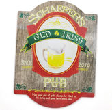 Cathy's Concepts CATHYS CONCEPTS Personalized Old Irish Bar Beer Sign