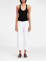 DKNY Cropped Twill Pant