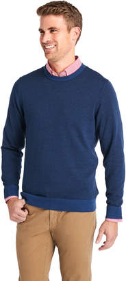 Vineyard Vines Feeder Stripe Double Knit Crew Sweater