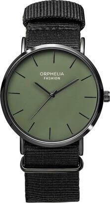 Orphelia Mens Analogue Classic Quartz Watch with Nylon Strap OF761808