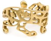Marc Alary 18kt gold cut-out panther ring