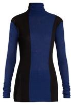 Haider Ackermann Fugazi striped roll-neck sweater