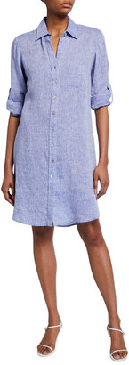 Finley Alex Linen Shirtdress