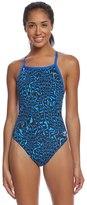 Speedo Endurance+ Women's Amplified Pulse Flyback One Piece Swimsuit 8155669