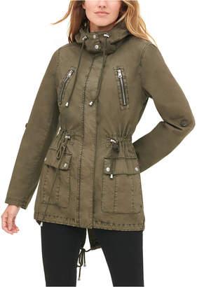Levi's Women Hooded Utility Jacket